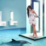 Красивый дизайн наливного пола