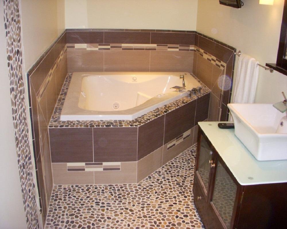 Сделайте наливной пол в ванной комнате своими руками