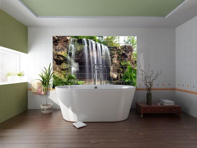 3d плитка водопад