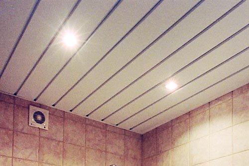 Чем отделать потолок красиво