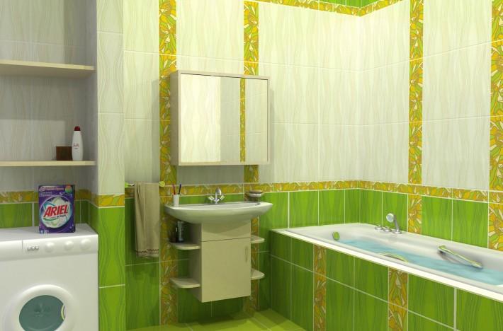 Дизайн комнаты 2на2 м с полноценной ванной
