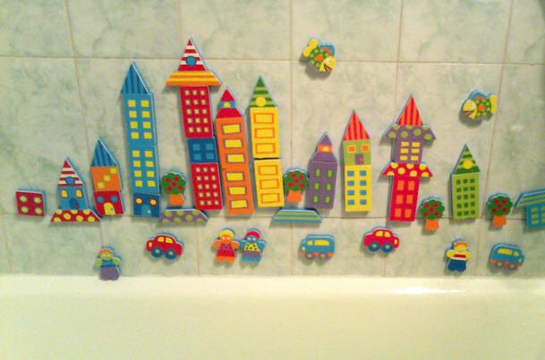 Конструктор на стену в ванной