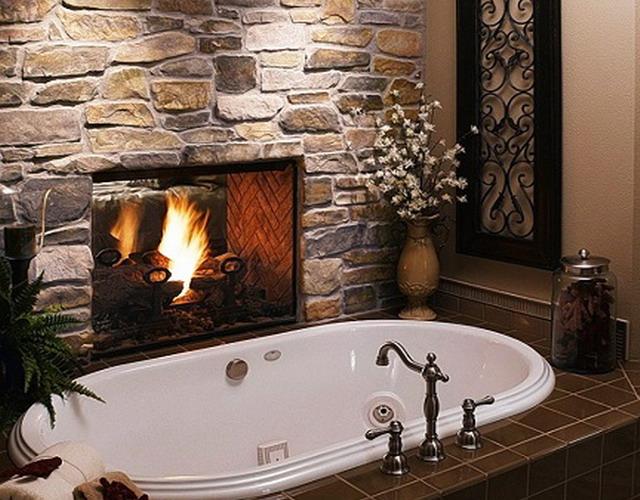 Натуральный камень для ванной комнаты