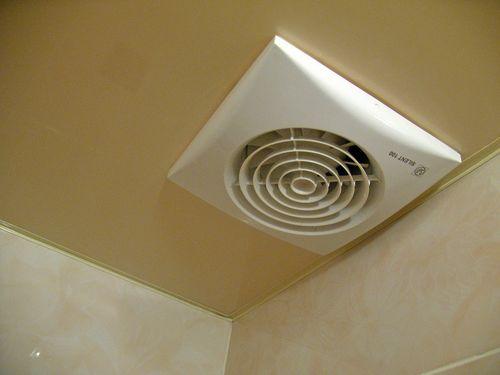 Как выглядит вентилятор в подвесном потолке