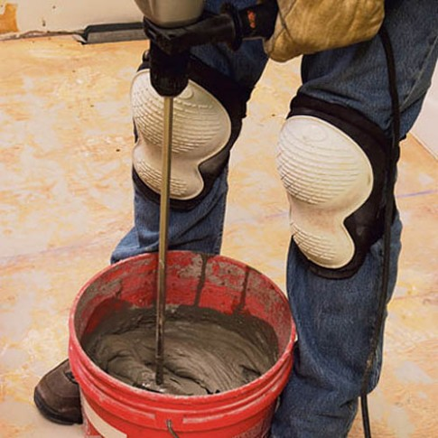 Как положить глиняную плитку на стену
