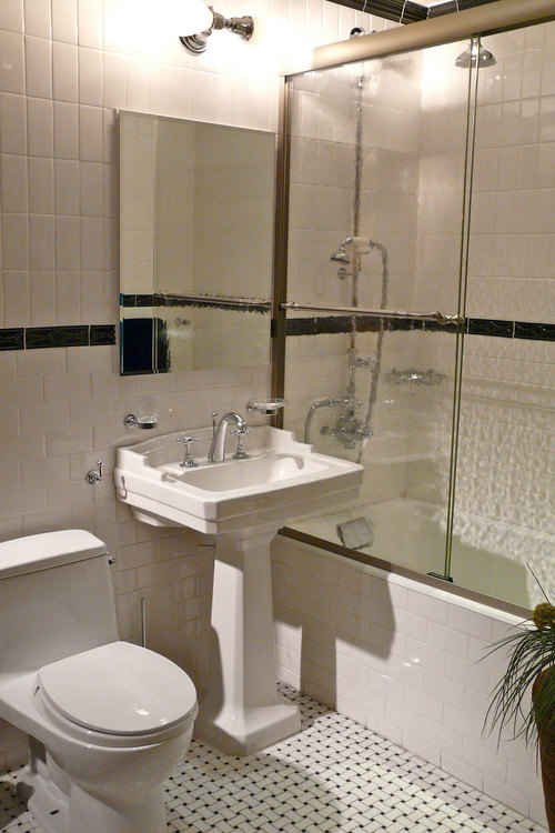 дизайн маленькой ванной в стиле минимализм