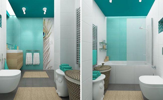 вариант оборудования ванны 3 кв м