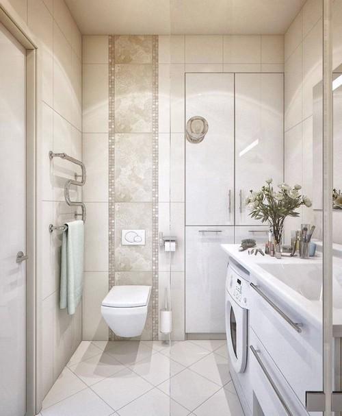встроенный шкаф в ванной 3 кв м