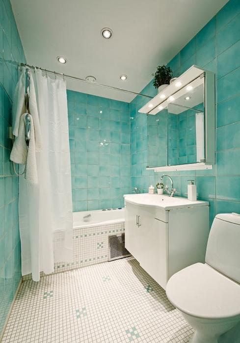 Создаем в ванной дизайн для комнаты 3 кв м