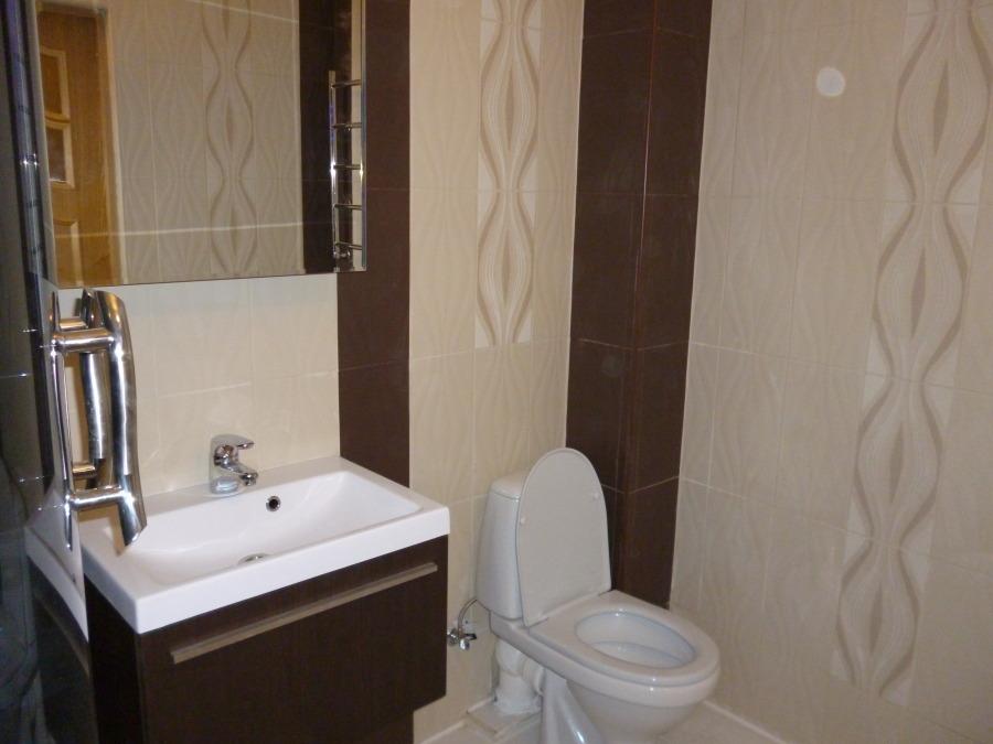 дизайн ванной 3 кв м в бежевых тонах
