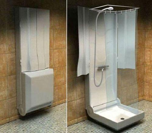 душевая кабина для очень маленькой ванной
