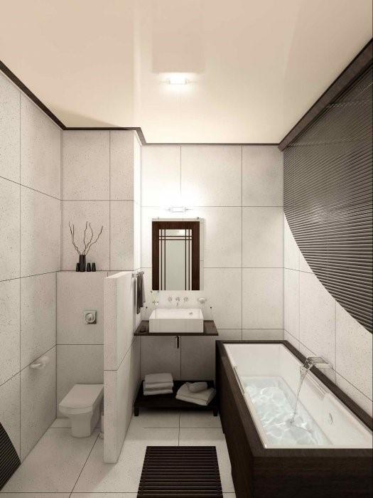 отделение туалета перегородкой