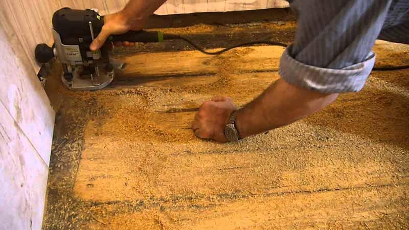 Подготовка деревянной основы