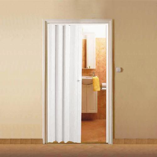 раздвижная дверь-гармошка в ванную
