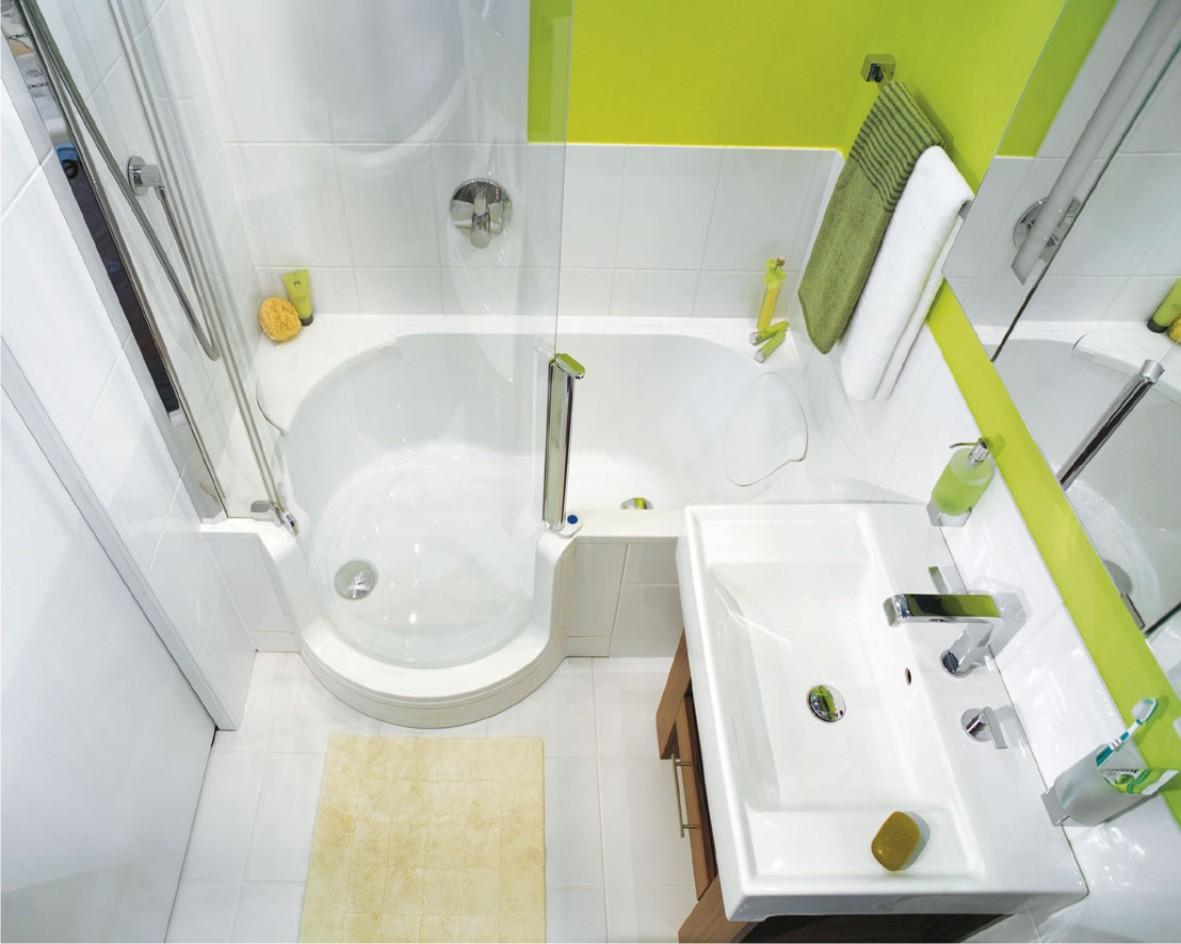 Разработка дизайна ванной комнаты маленького размера