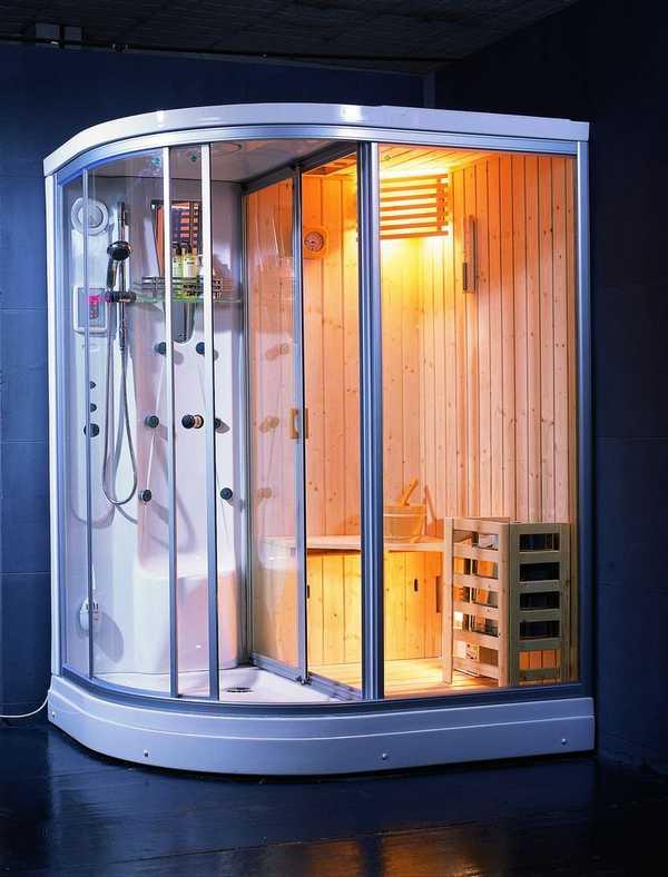 Душевая кабинка с функцией турецкой бани