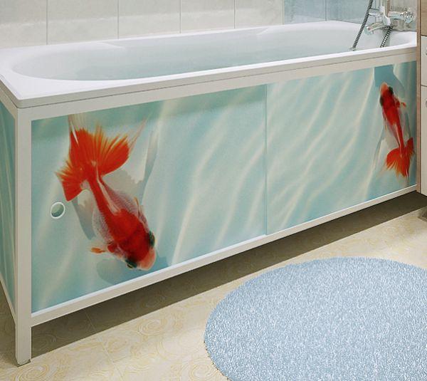 Экран для ванны из панелей пвх своими