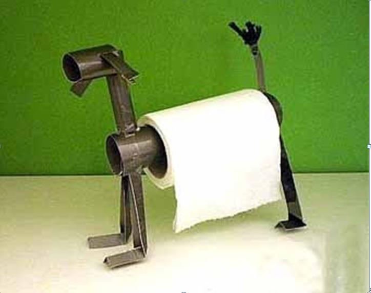 Креативный держатель для бумажных полотенец