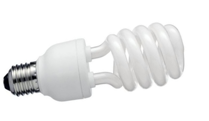 Люминисцентная лампа витая
