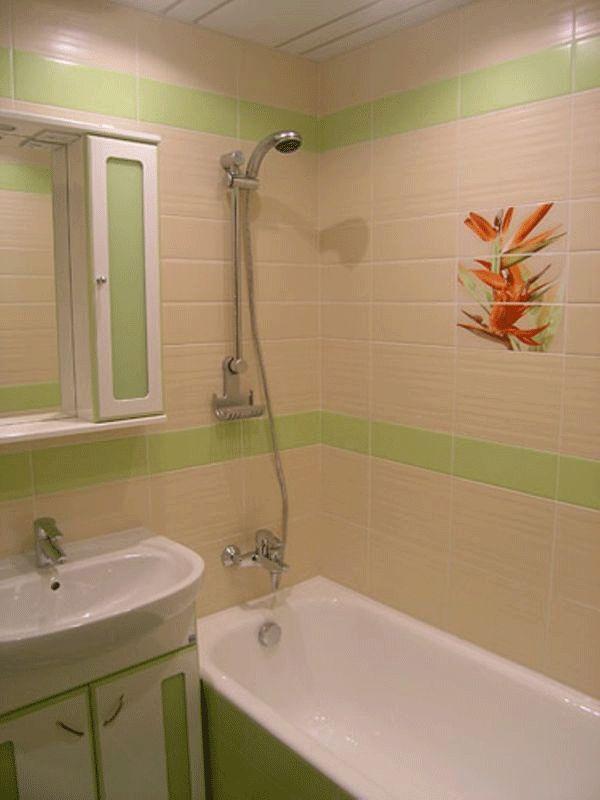 Маленькая ванная 2 кв м