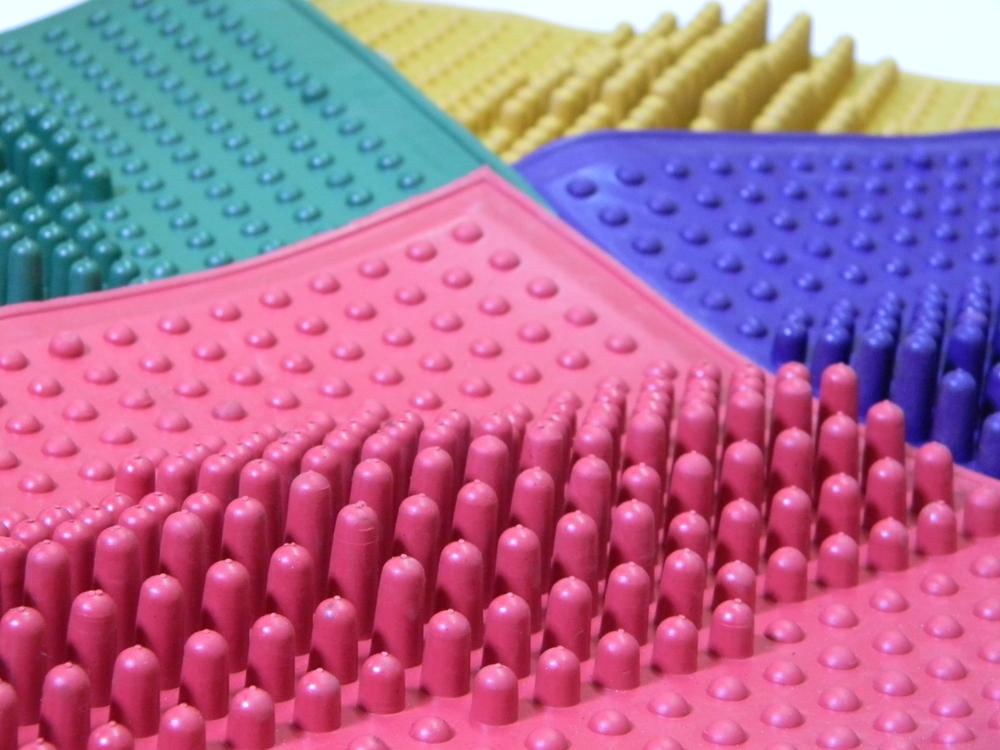 Массажные резиновые коврики от плоскостопия