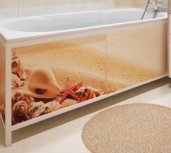 Выбираем экран для ванны раздвижной