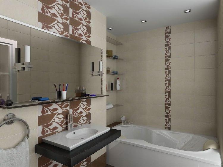 Оформление ванной комнаты 4 кв м