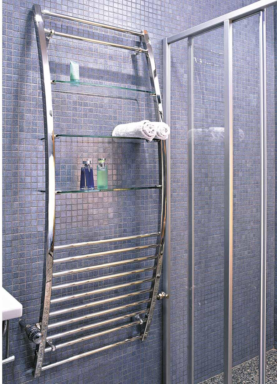 Оригинальный водяной полотенцесушитель