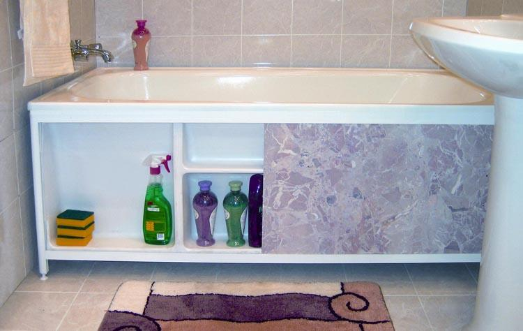 Выбираем пластиковые этажерки для ванной