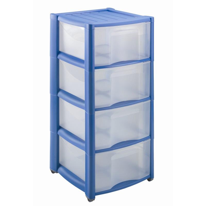 Пластиковый комод для хранения