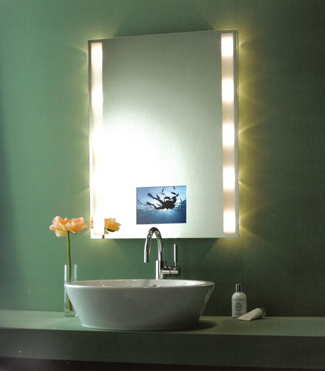 Подсветка шкафа с зеркальной дверкой