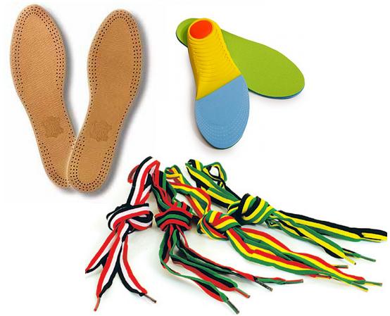 Шнурки и стельки