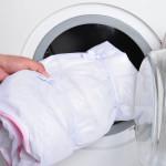 Стираем тюль в стиральной машине