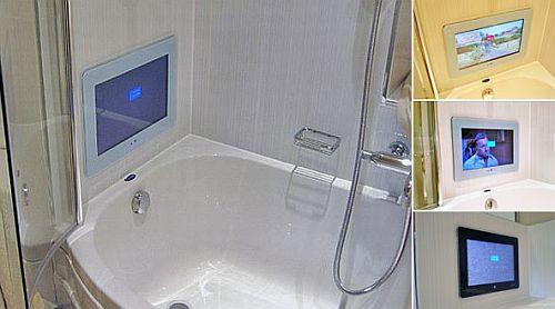 ТВ в ванной комнате