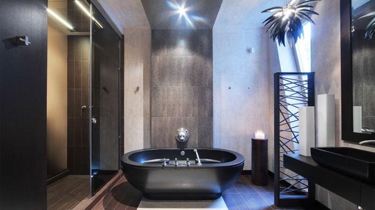 Ванна в стиле арт-деко