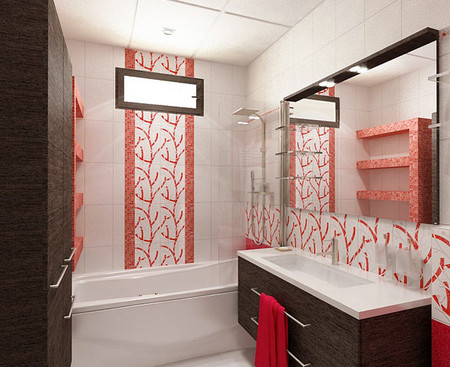 Окно между ванной и кухней, зачем нужно, как заделать
