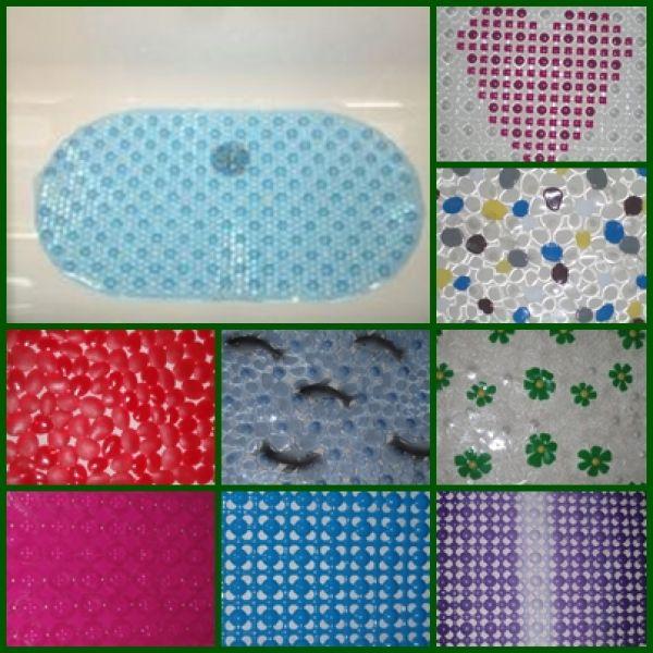 Виды ковриков для ванны