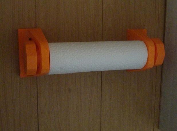 Яркий держатель для бумажных полотенец
