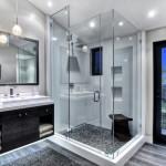 черно белая комната в современном стиле
