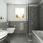 стиль модерн для ванной комнаты