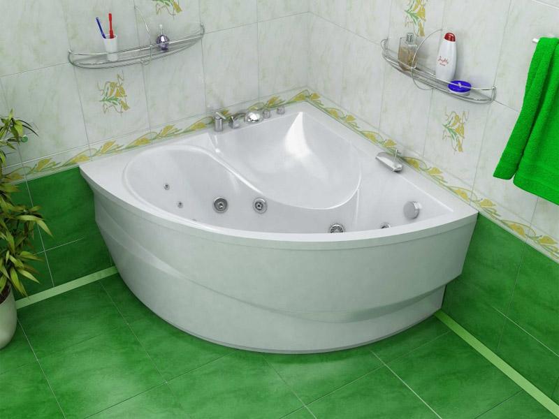 Как выбрать угловую ванную, какие есть разновидности