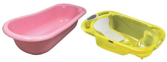 Антимикробные детские ванночки для купания