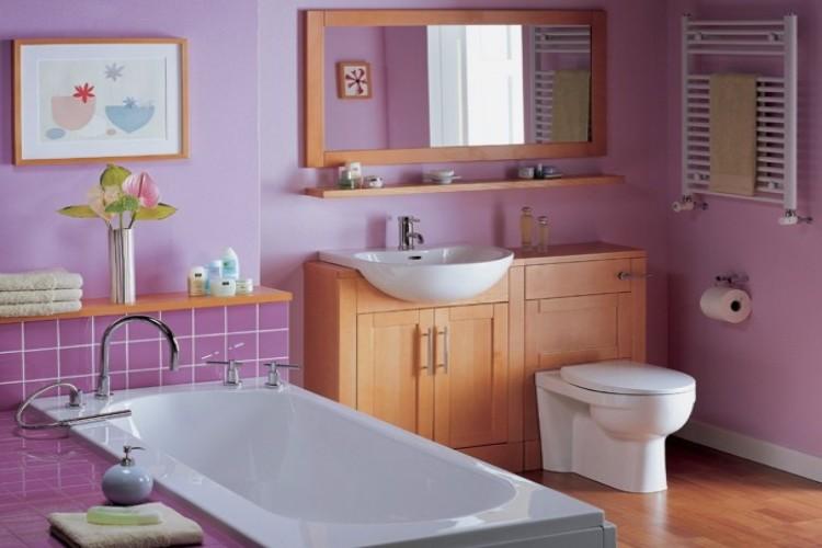 Чем красить стены в ванной