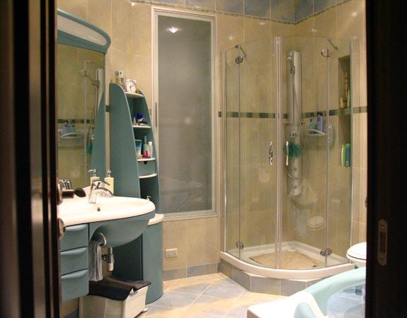 Душевая кабинка вместо ванной в конате 6 кв м