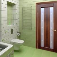 Установка двери в ванную и туалет