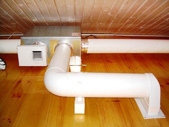 Электрооборудование принудительной вентиляции