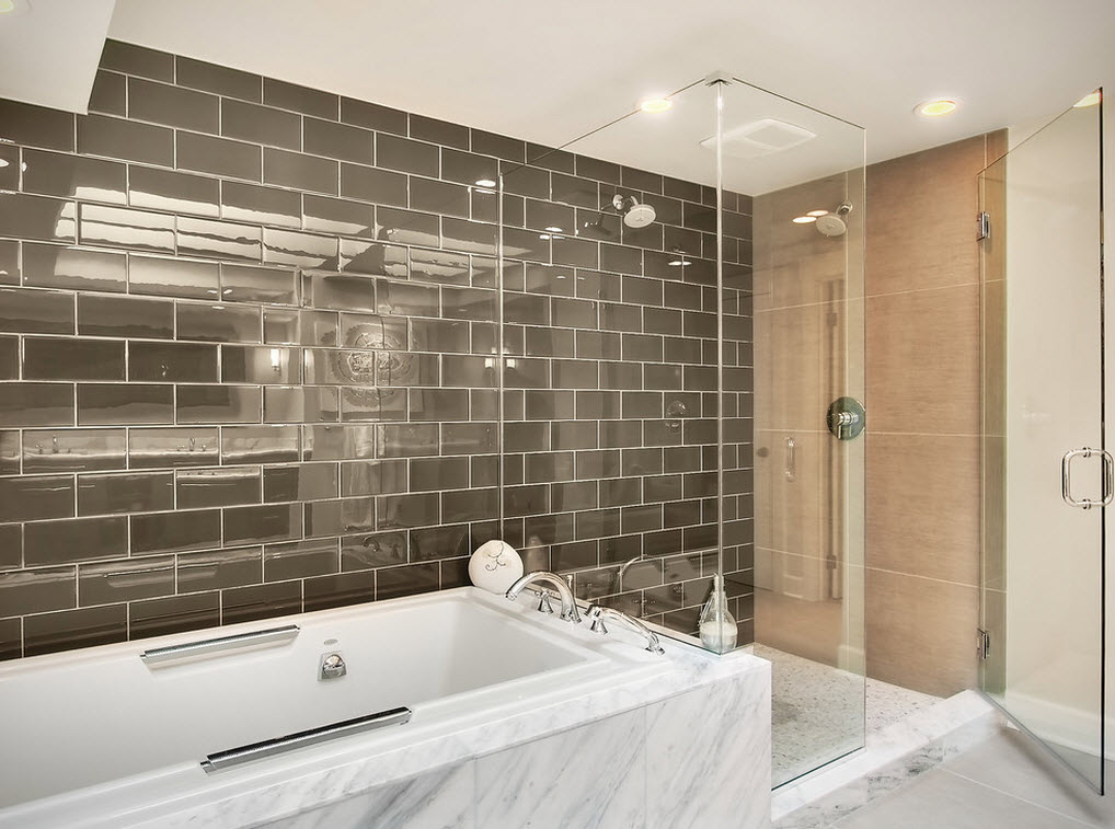 Badezimmer Klinker