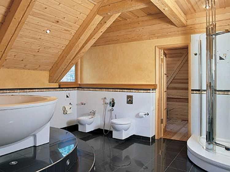 Как сделать красивую ванную комнату в доме