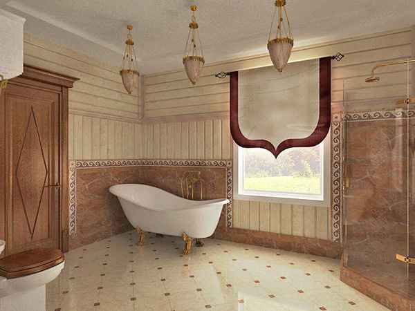 Как сделать пол ванной в деревянном доме