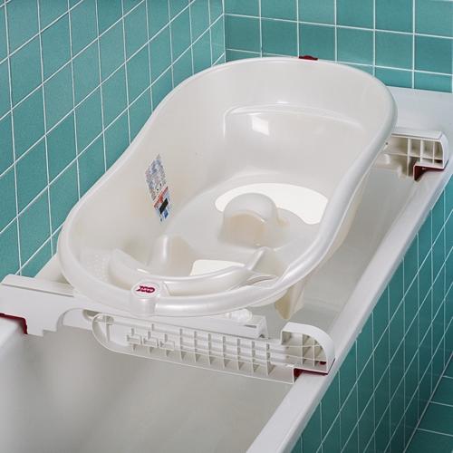 Комплект раздвижных держателей для установки детской ванночки на большую ванну